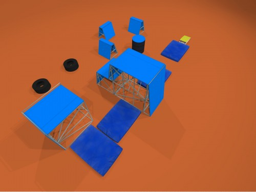 Паркур площадка АМФГ (концепт