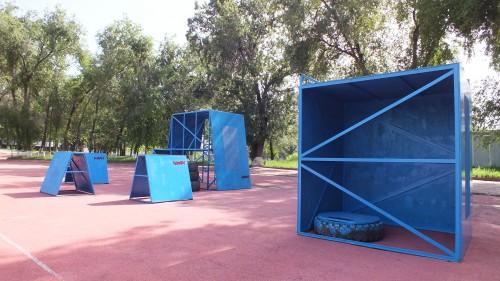 Паркур площадка АМФГ